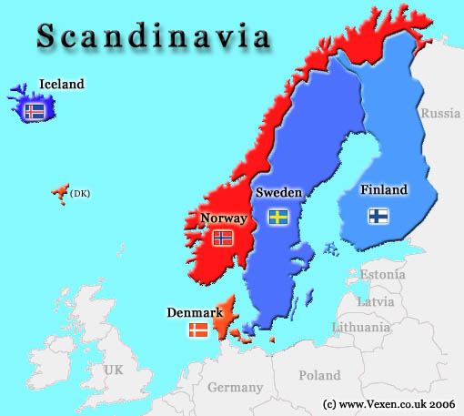 scandinavia the crown of civilisation sweden denmark
